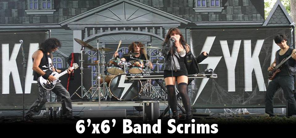 band scrims
